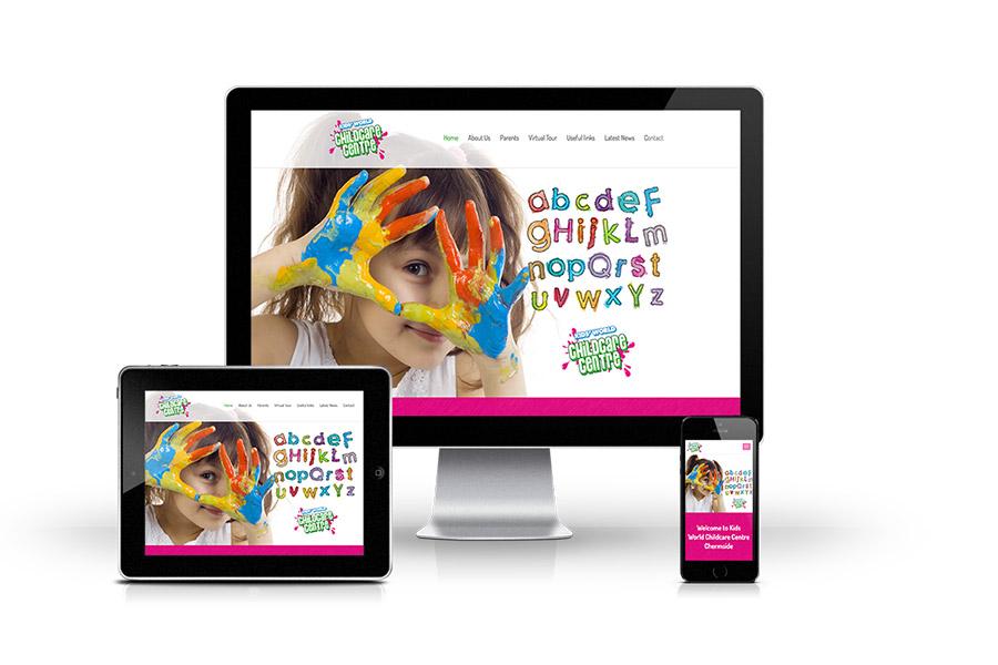 Kidsworld Website Design
