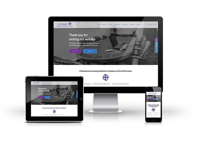 synergy web design